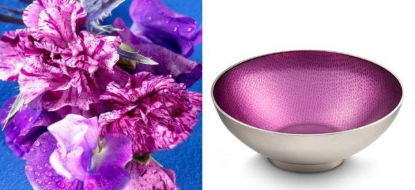 Symphony Pink Orchid Bowl and Flower