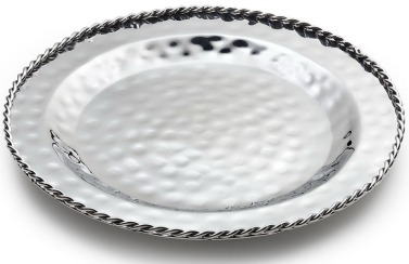HPA 006 - Paloma Serving Dish w-Braided Wire 13''