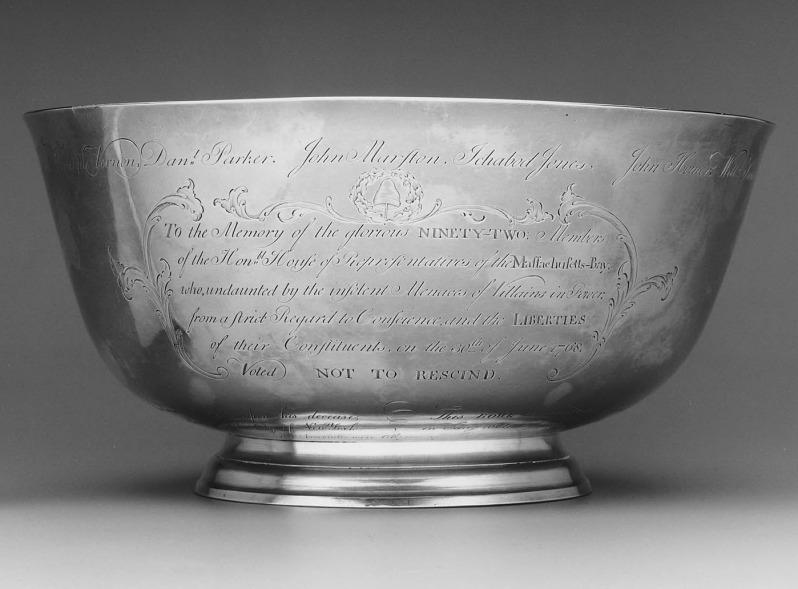 Revere Bowl_Boston Fine Arts Museum